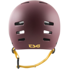 TSG Evolution Solid Color Helmet Damen satin plum red